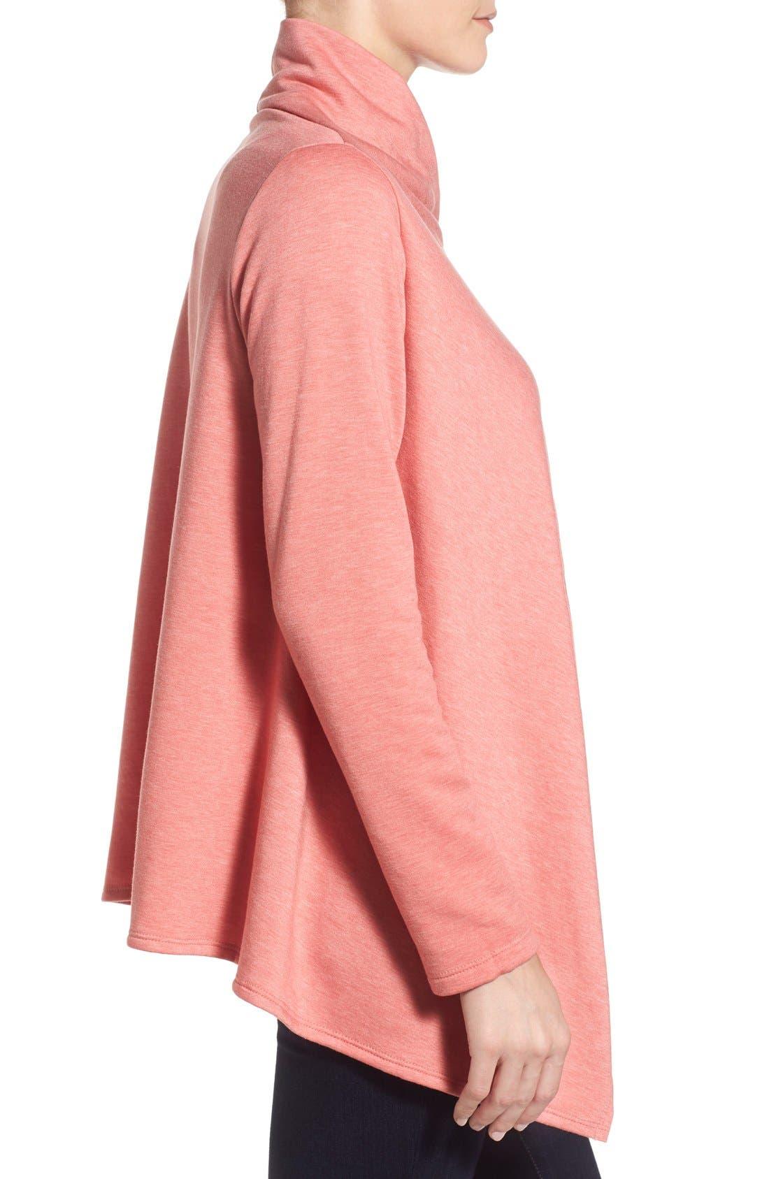 ,                             One-Button Fleece Wrap Cardigan,                             Alternate thumbnail 241, color,                             951