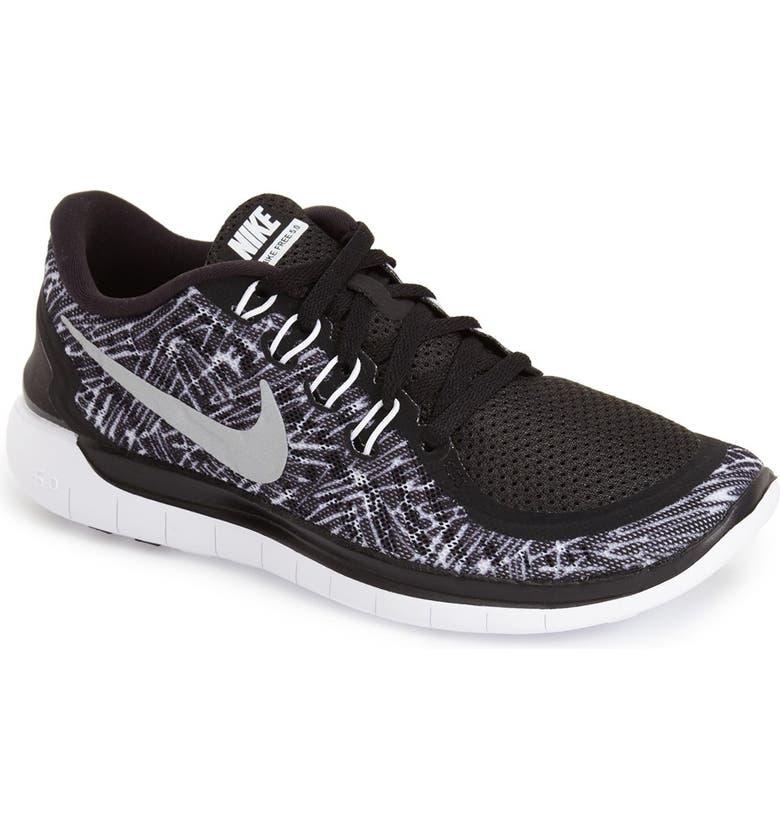 NIKE 'Free 5.0' Running Shoe, Main, color, 001