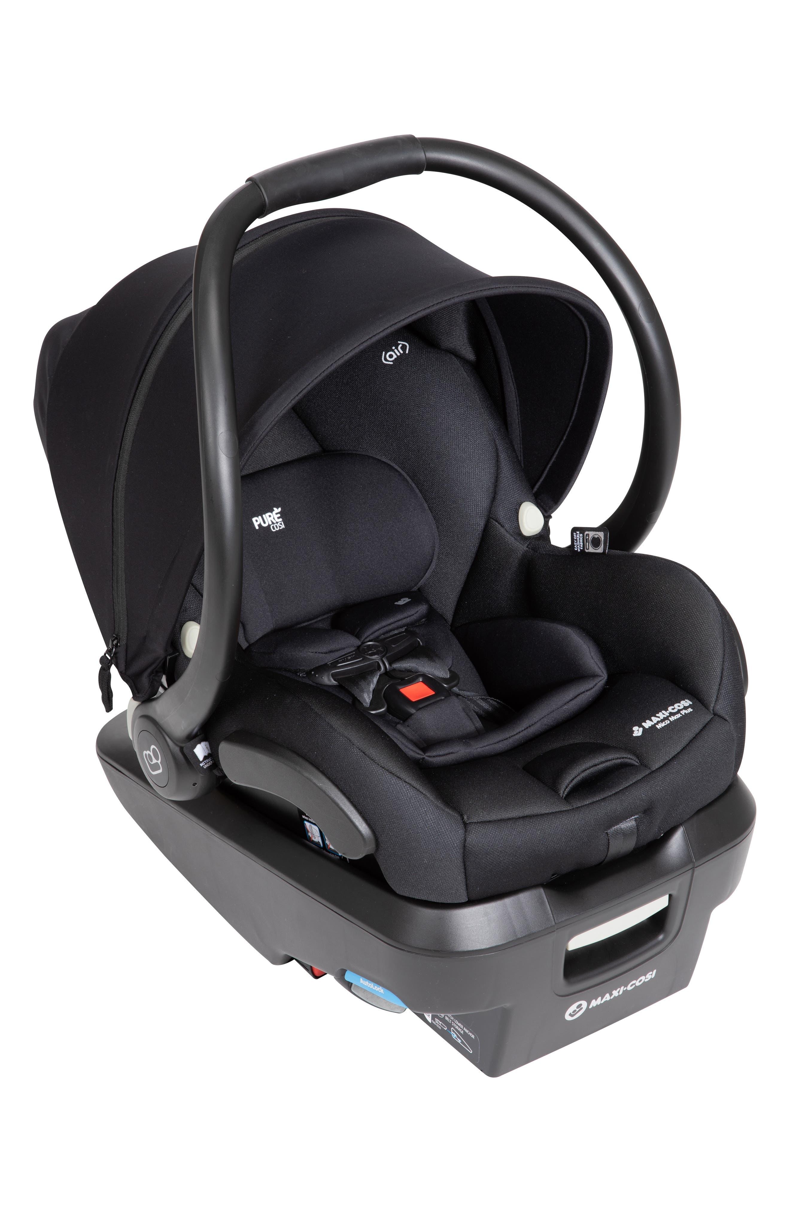 Infant MaxiCosi Mico Max Plus Purecosi Infant Car Seat Size One Size  Grey