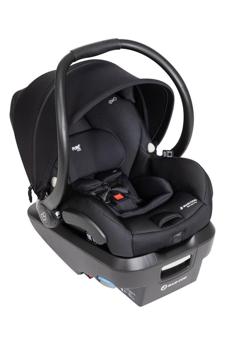 MAXI-COSI<SUP>®</SUP> Mico Max Plus PureCosi Infant Car Seat, Main, color, ONYX BLISS