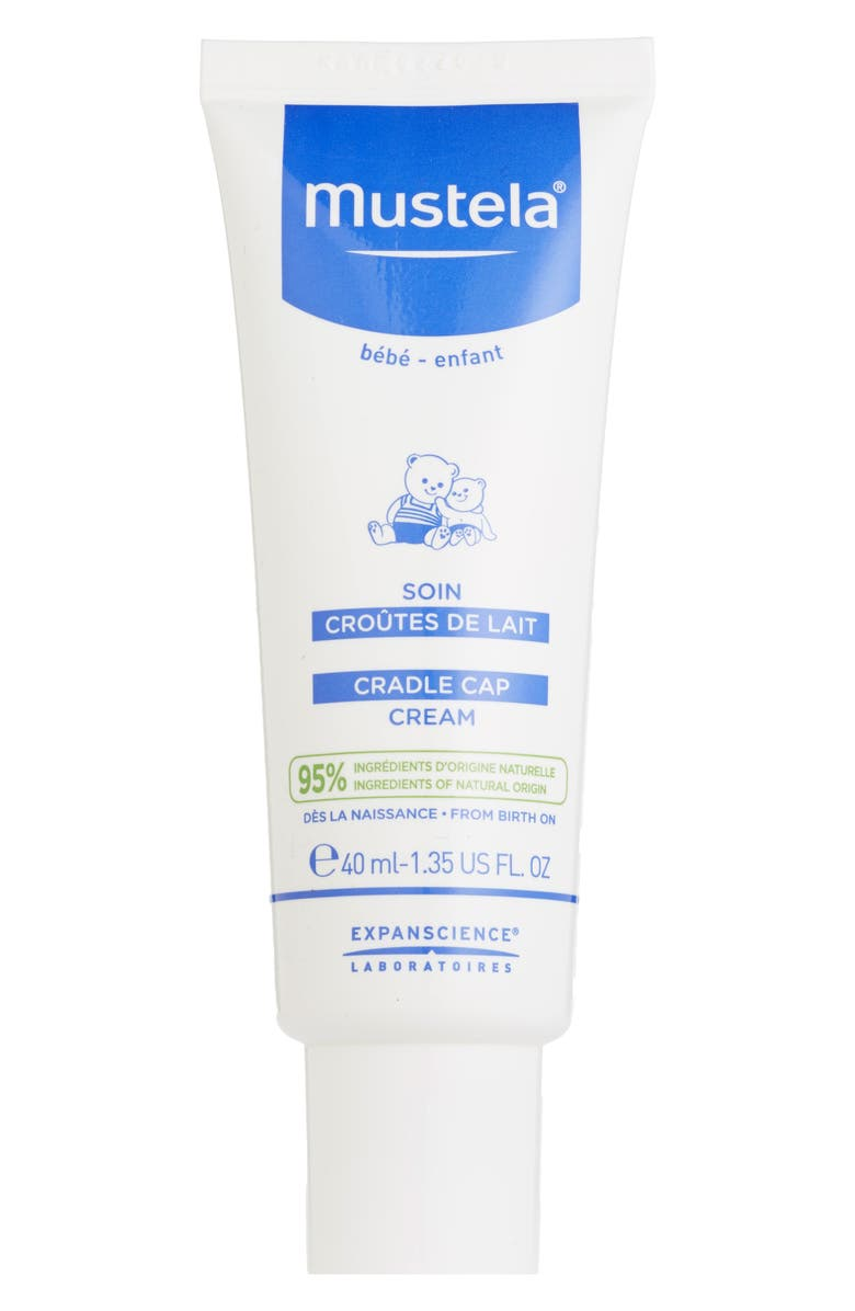 MUSTELA<SUP>®</SUP> Cradle Cap Cream, Main, color, WHITE