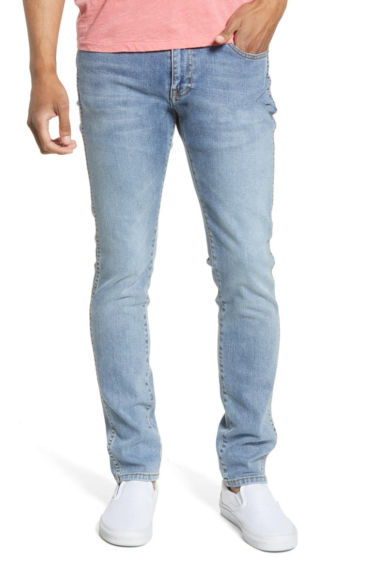 DR. DENIM SUPPLY CO. Snap Skinny Fit Jeans, Main, color, CALIFORNIA BLUE