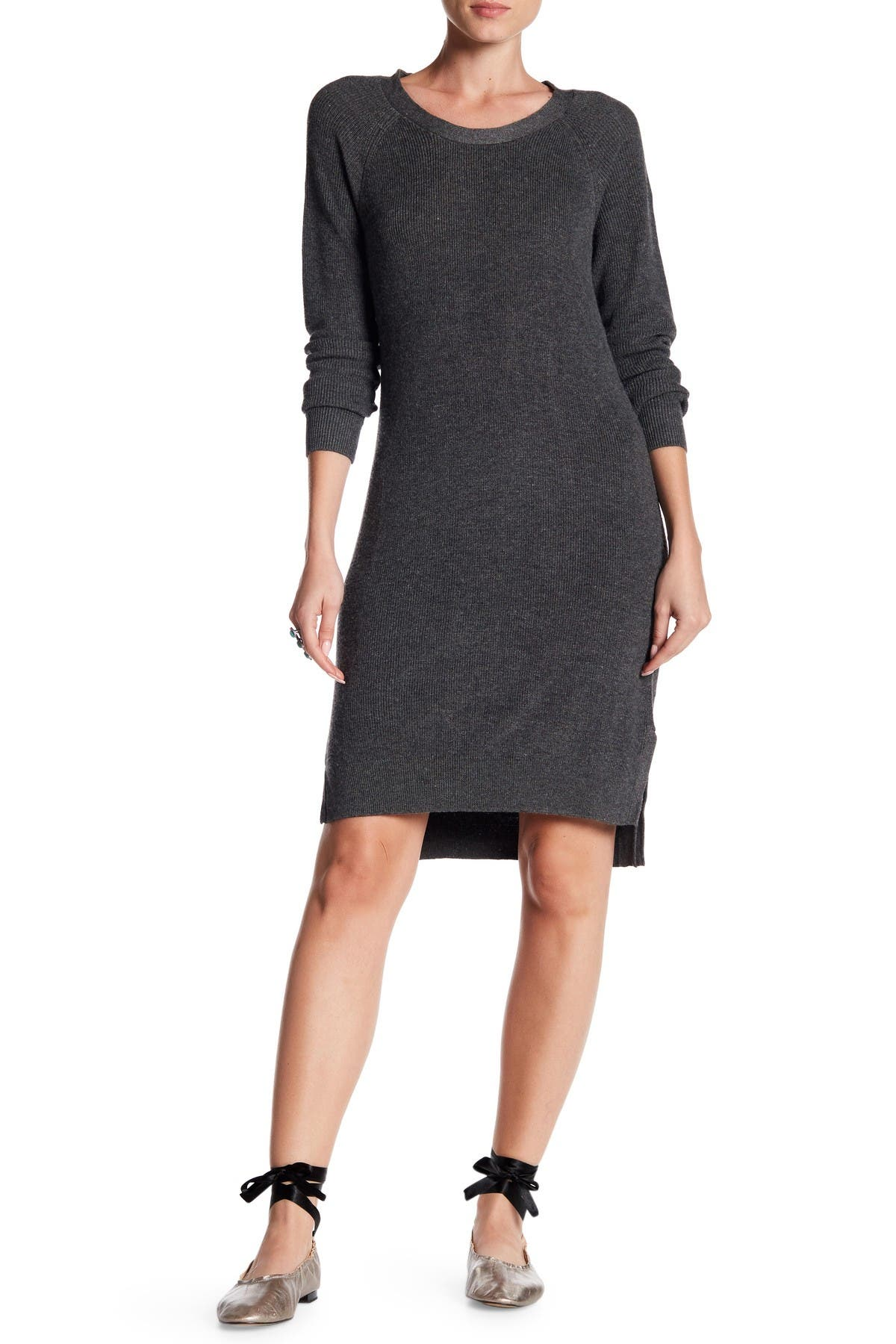 Image of Love Stitch Raglan Sweater Dress