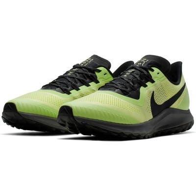 Nike Air Zoom Pegasus 36 Trail Running Shoe, Green