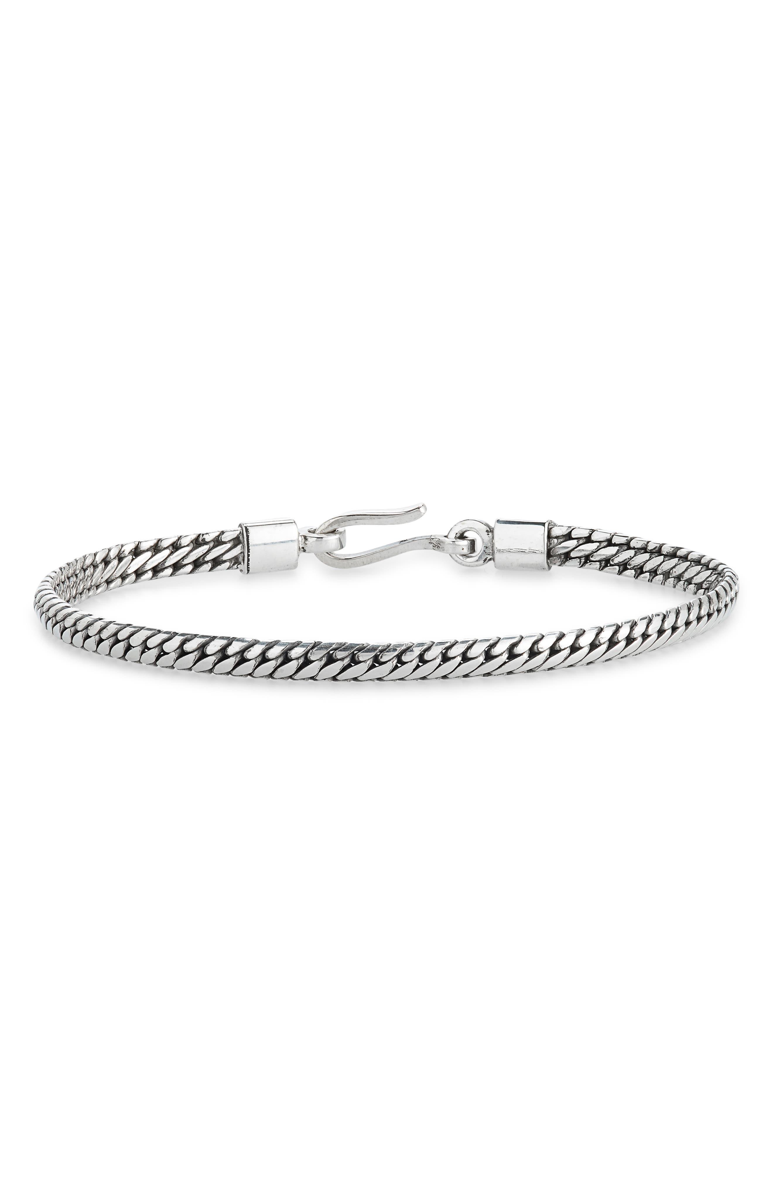 Men's Bali Chain Bracelet