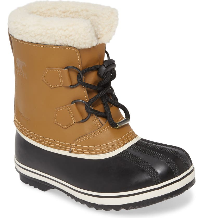 SOREL Yoot Pac Waterproof Insulated Snow Boot, Main, color, MESQUITE