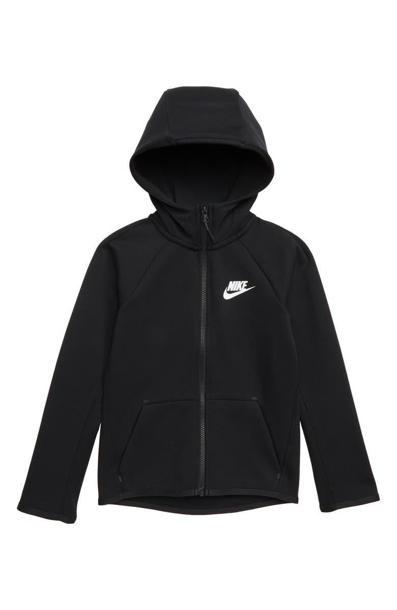 NIKE Sportswear Tech Fleece Zip Hoodie, Main, color, 010