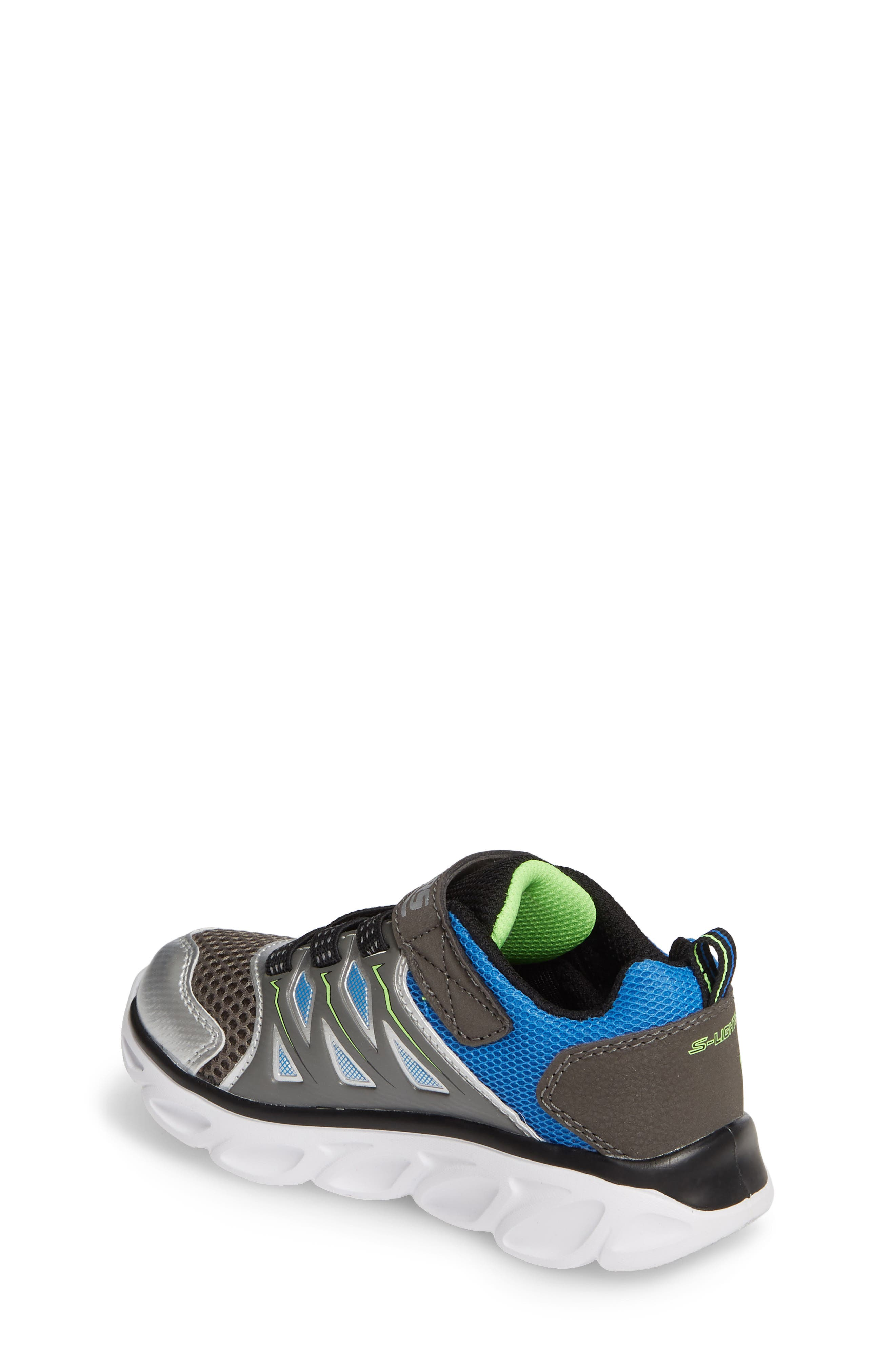 ,                             Hypno-Flash 3.0 Light-Up Sneakers,                             Alternate thumbnail 2, color,                             SILVER/ BLUE