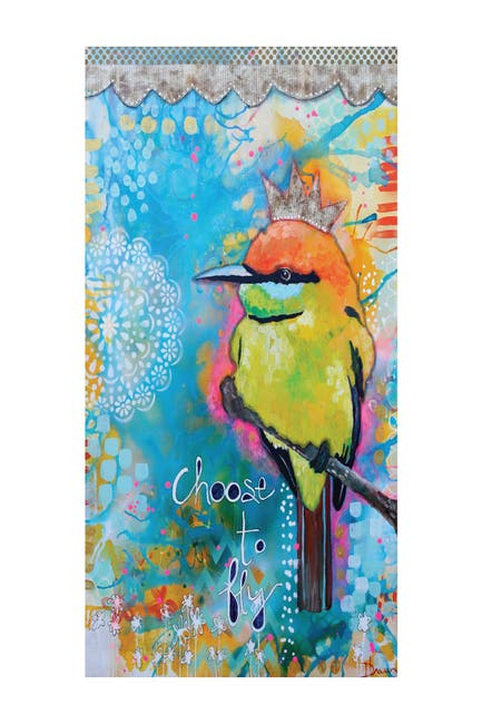 """Image of COURTSIDE MARKET Choose to Fly 96"""" x 45"""" Mural"""