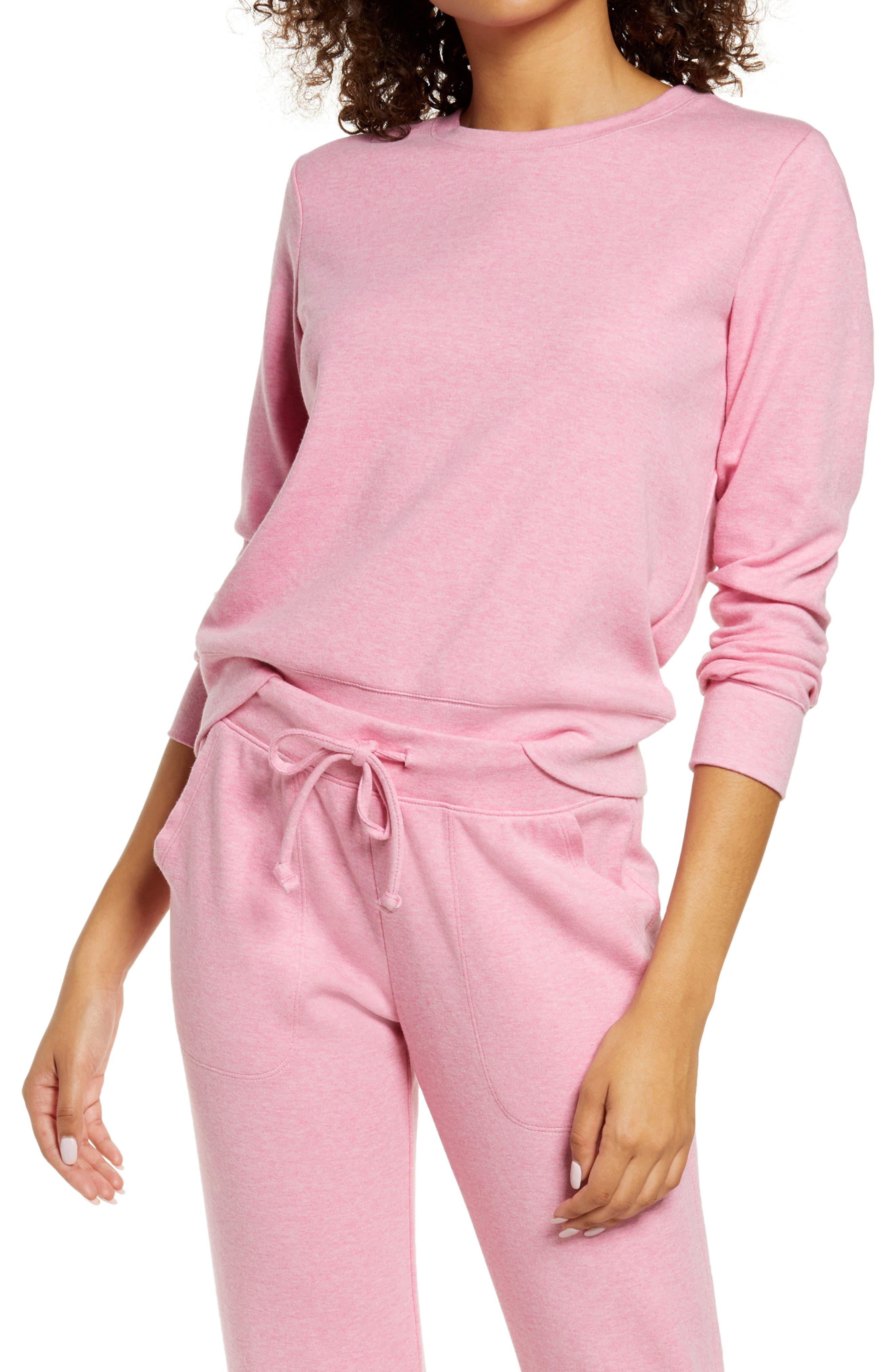 Cotton Blend Interlock Sweatshirt