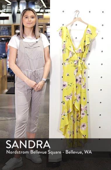 Ruffle Wrap Maxi Dress, sales video thumbnail