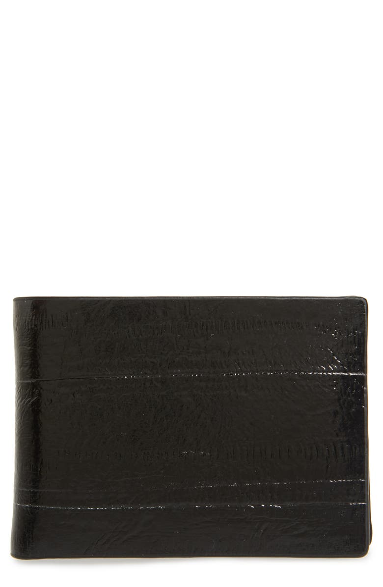 CALVIN KLEIN RFID Leather Slimfold Wallet, Main, color, 001