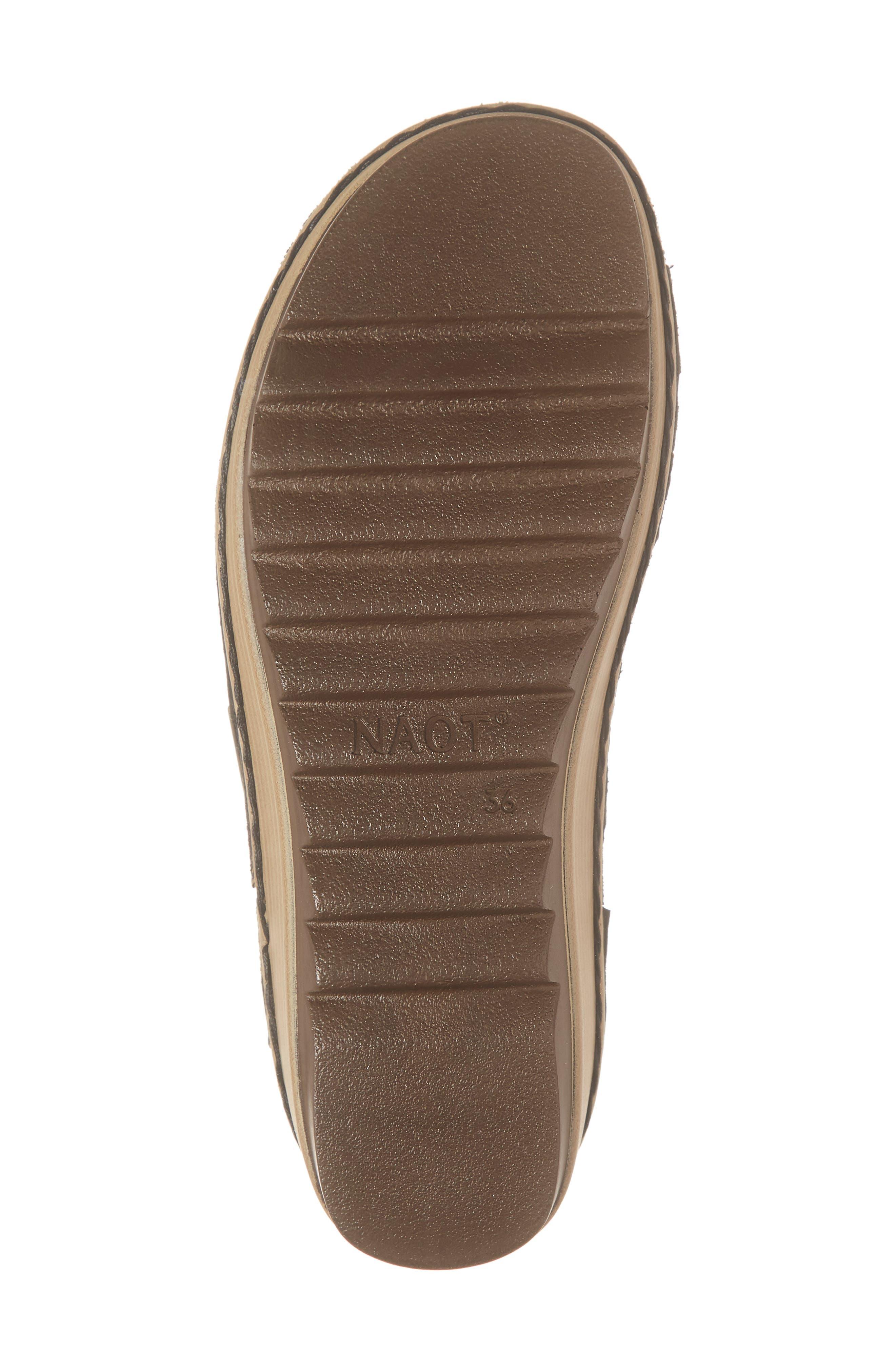 ,                             'Begonia' Sandal,                             Alternate thumbnail 6, color,                             BLACK/ BLACK LEATHER