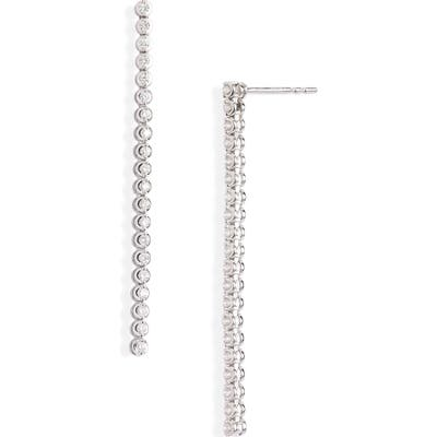 Bony Levy Audrey Linear Diamond Earrings (Nordstrom Exclusive)