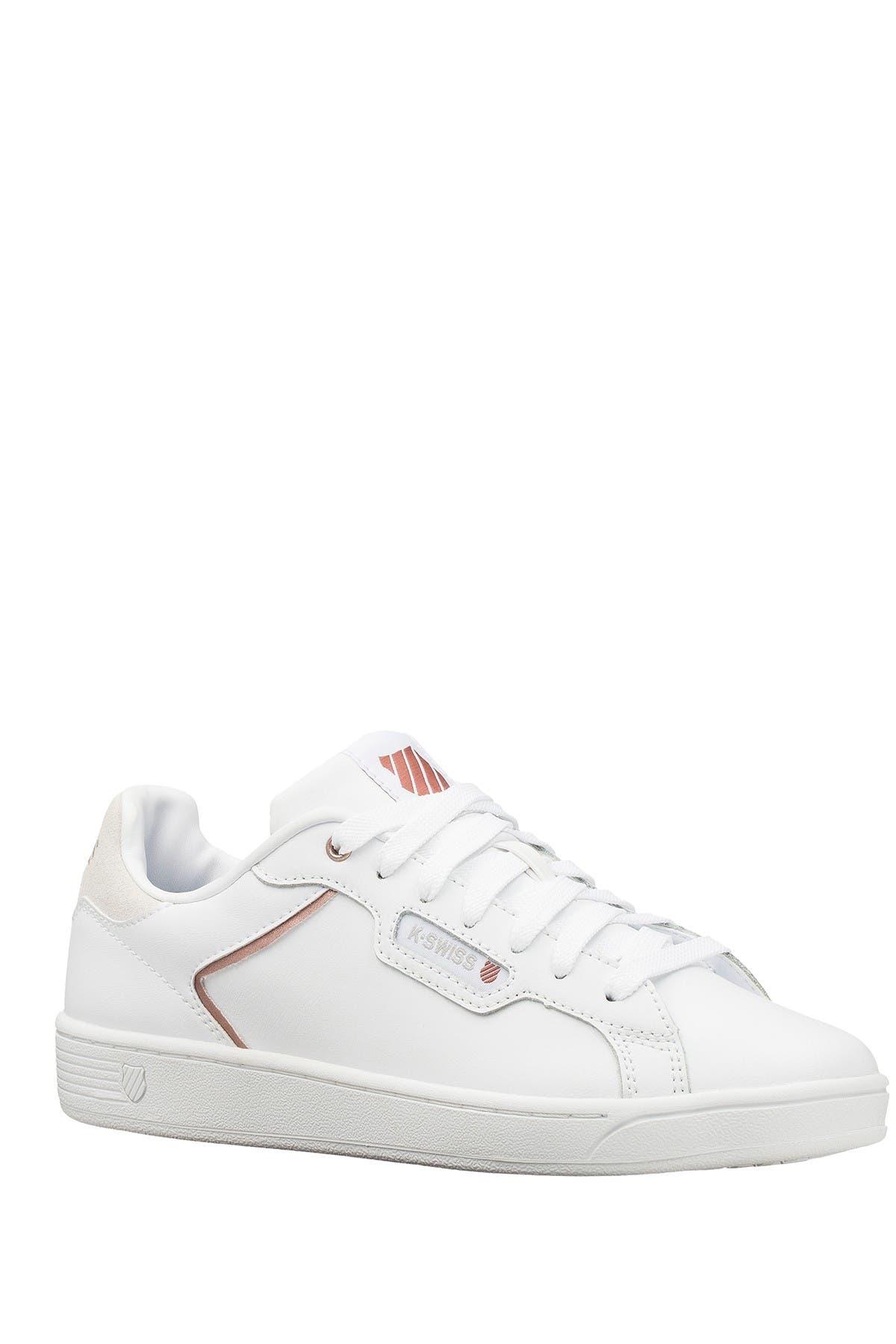 Image of K-Swiss Clean Court II CMF Leather Sneaker