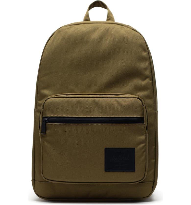 HERSCHEL SUPPLY CO. Pop Quiz Backpack, Main, color, KHAKI GREEN
