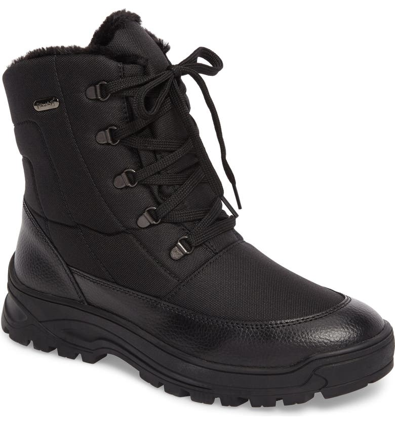PAJAR Trigger Winter Waterproof Boot, Main, color, BLACK
