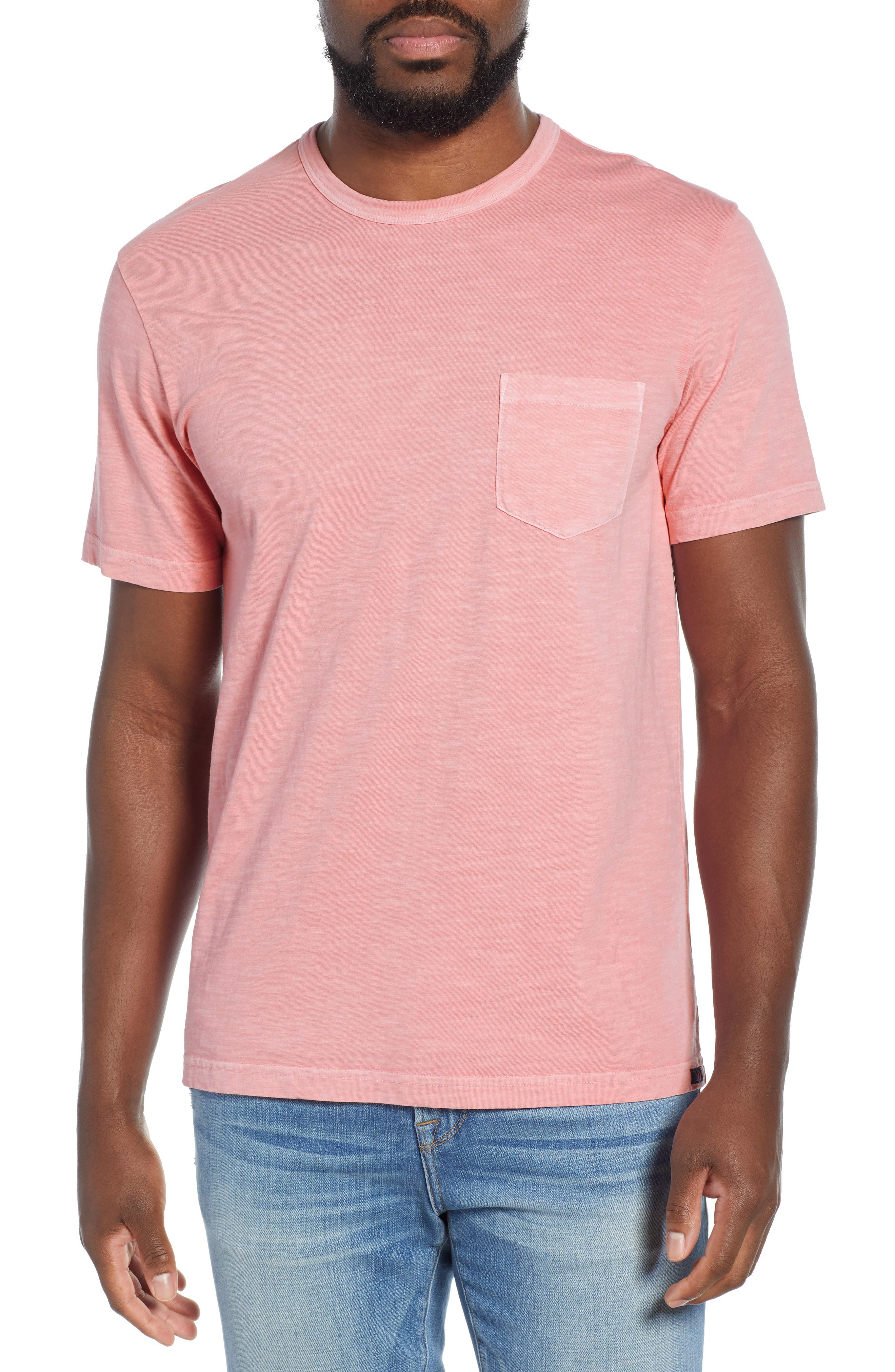 Faherty Sunwashed Regular Fit Pocket T-Shirt