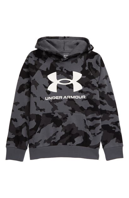 Under Armour RIVAL FLEECE PRINT HOODIE