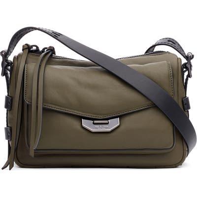 Rag & Bone Small Leather Field Messenger Bag - Green