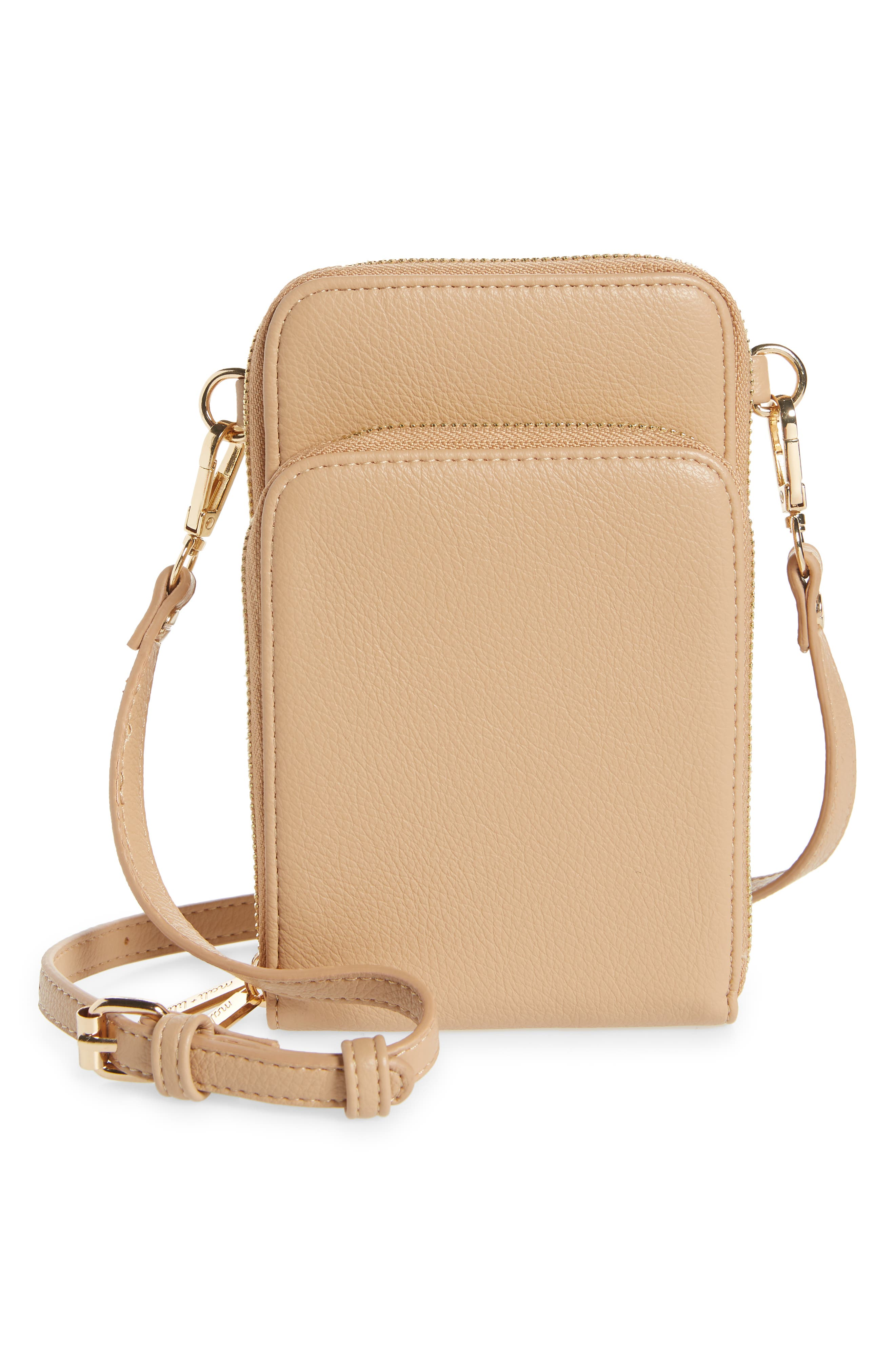 Women's Mali + Lili Jo Vegan Leather Wallet On A Strap