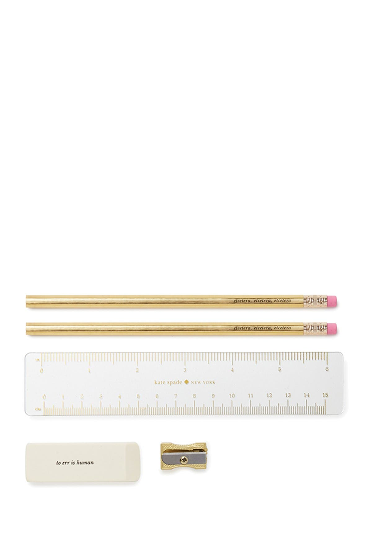 Image of kate spade new york pencil case, on point