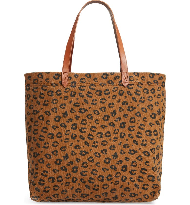MADEWELL The Canvas Transport Tote: Print Edition, Main, color, 200