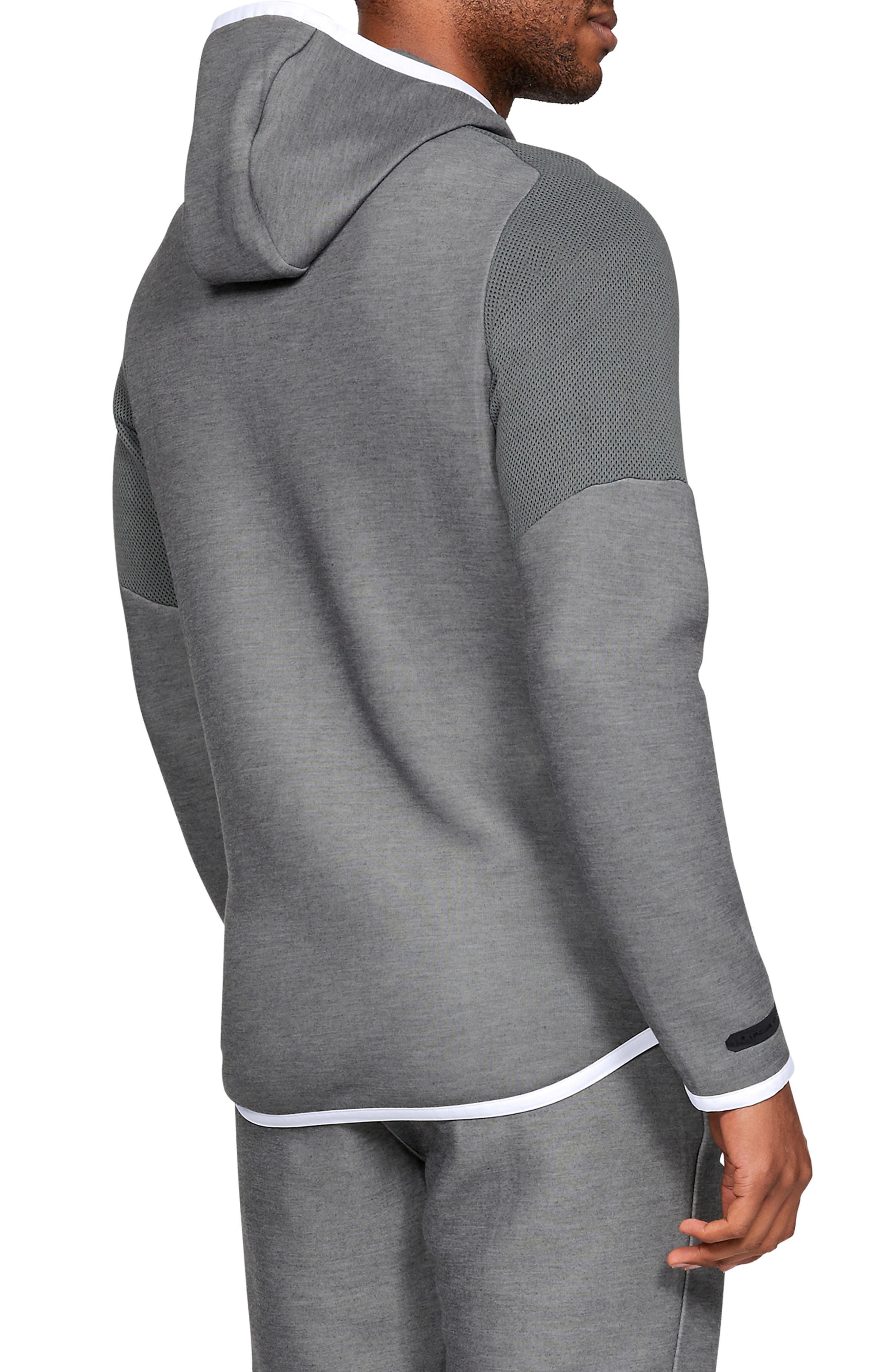 ,                             Unstoppable Move Light Full-Zip Hooded Sweatshirt,                             Alternate thumbnail 2, color,                             002