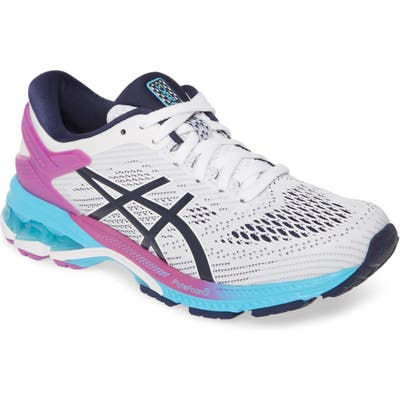 Asics Gel-Kayano 26 Running Shoe, White