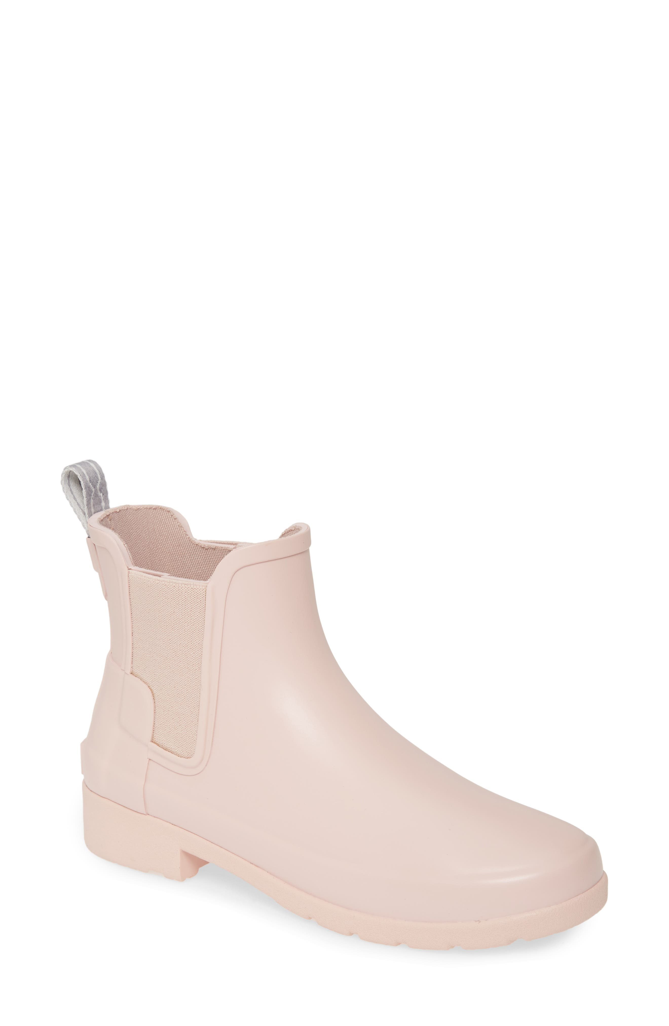 Hunter Refined Chelsea Boot, Pink