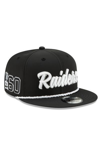 New Era Nfl Snapback Baseball Hat In Oakland Raiders