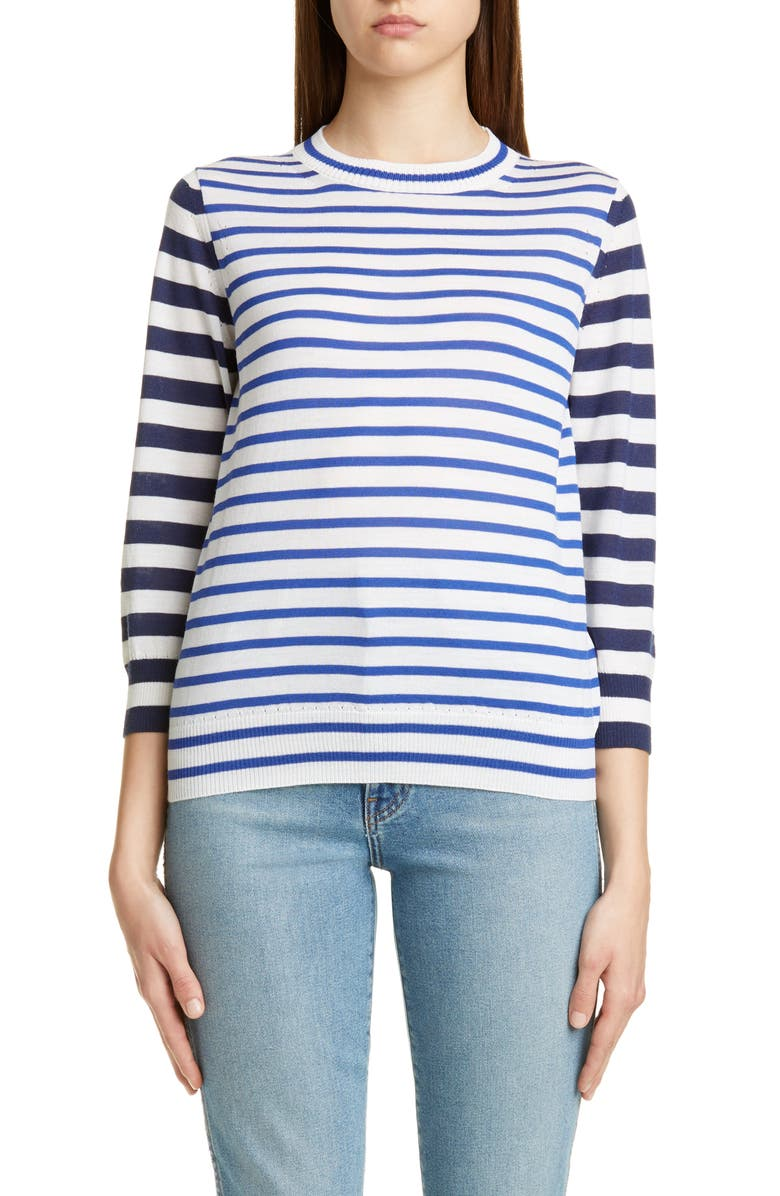 TRICOT COMME DES GARÇONS Multi Stripe Sweater, Main, color, 100