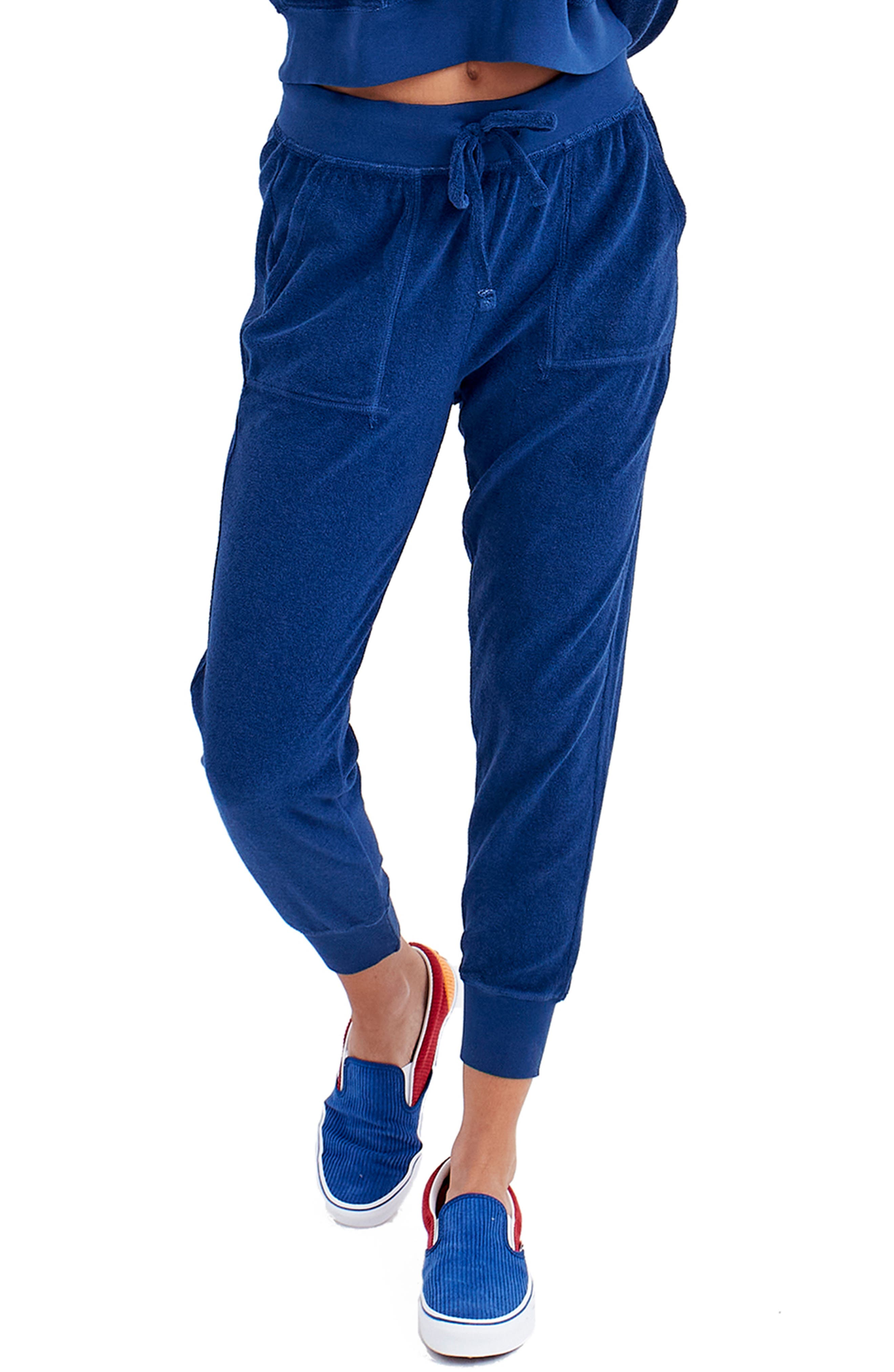 Terry Cloth Joggers
