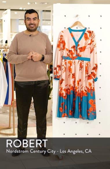Karolyn Fantasia Midi Dress, sales video thumbnail