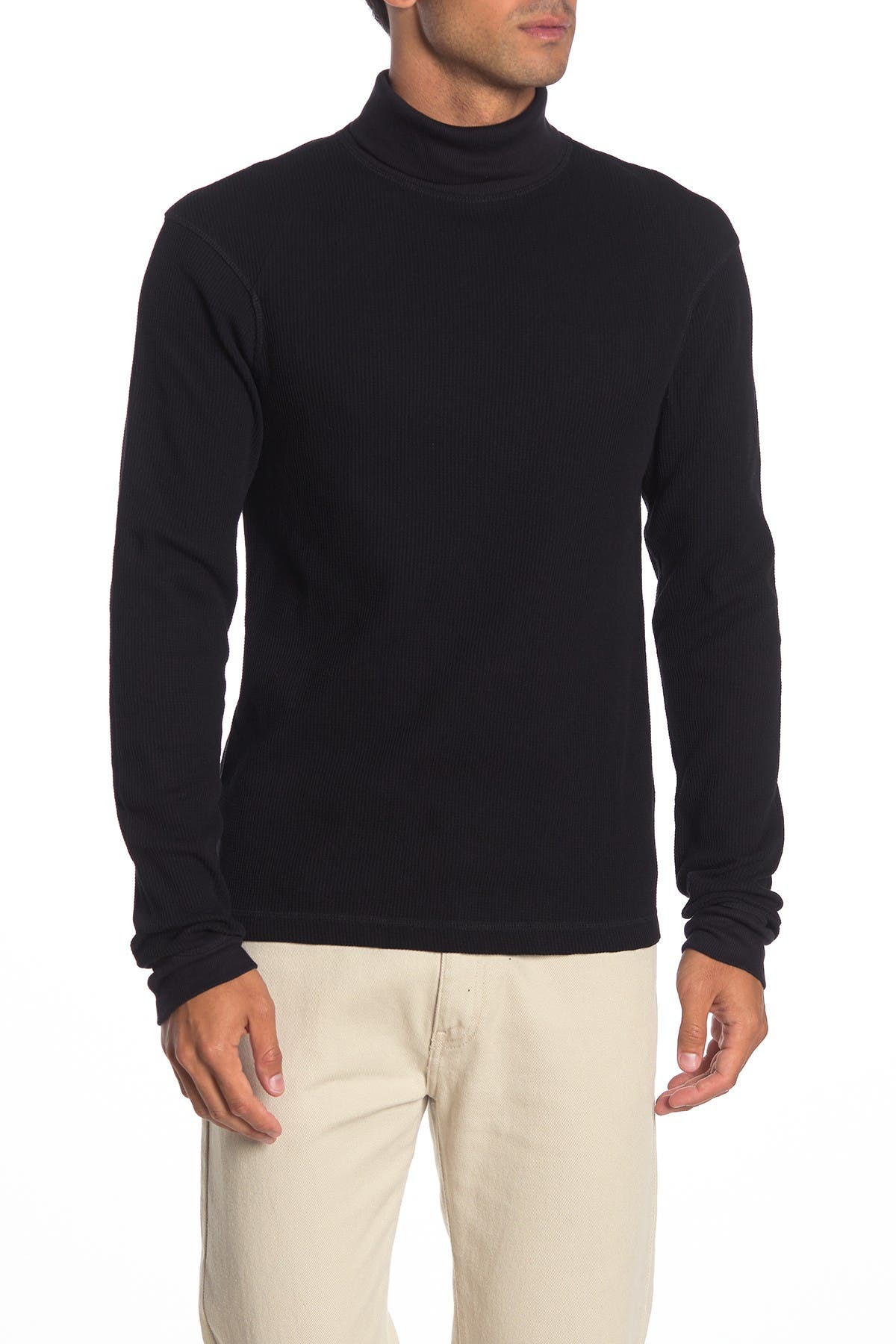 Image of Helmut Lang Thermal Long Sleeve Turtleneck
