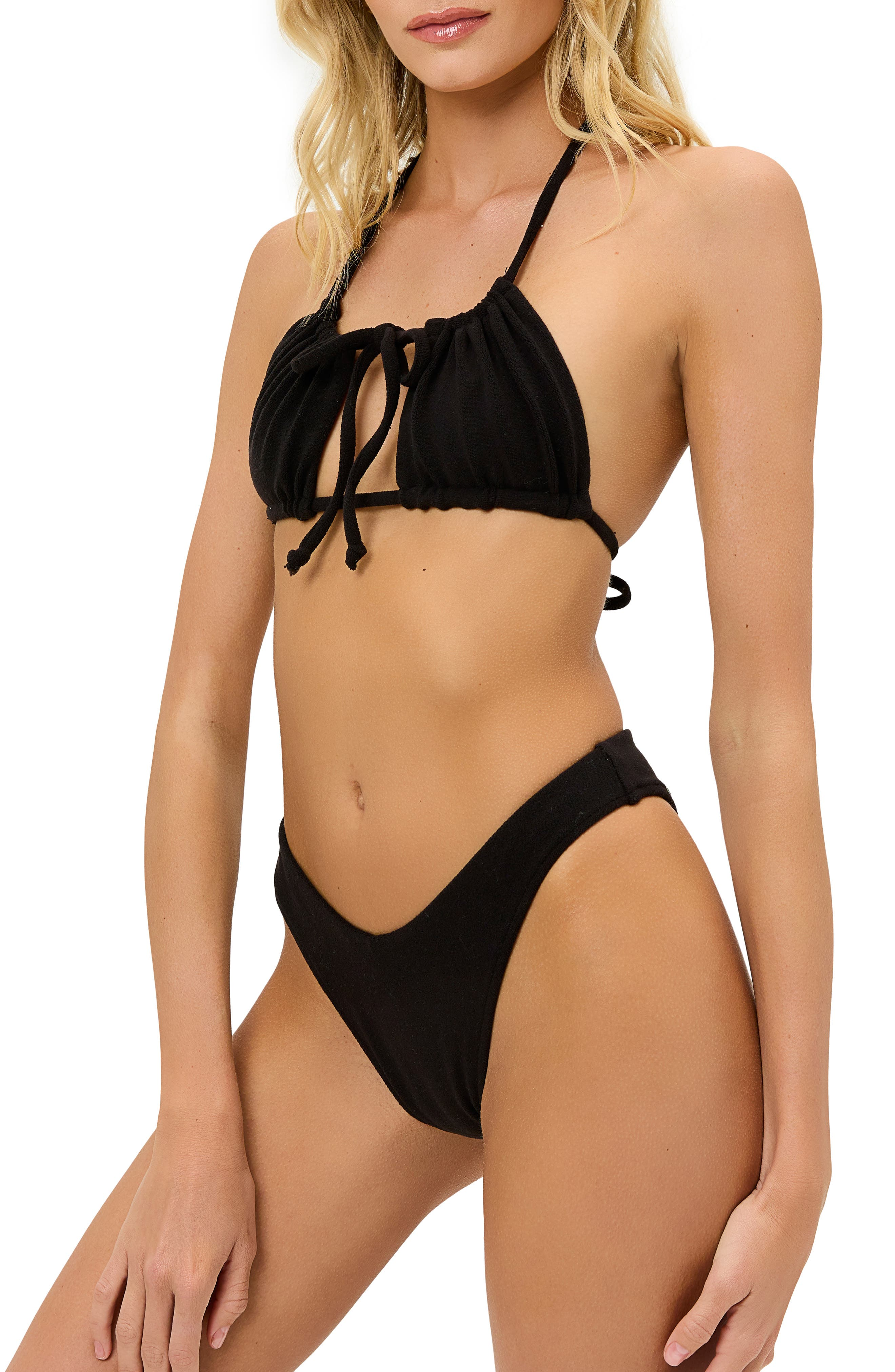 Eliza Terry Cloth Bikini Top