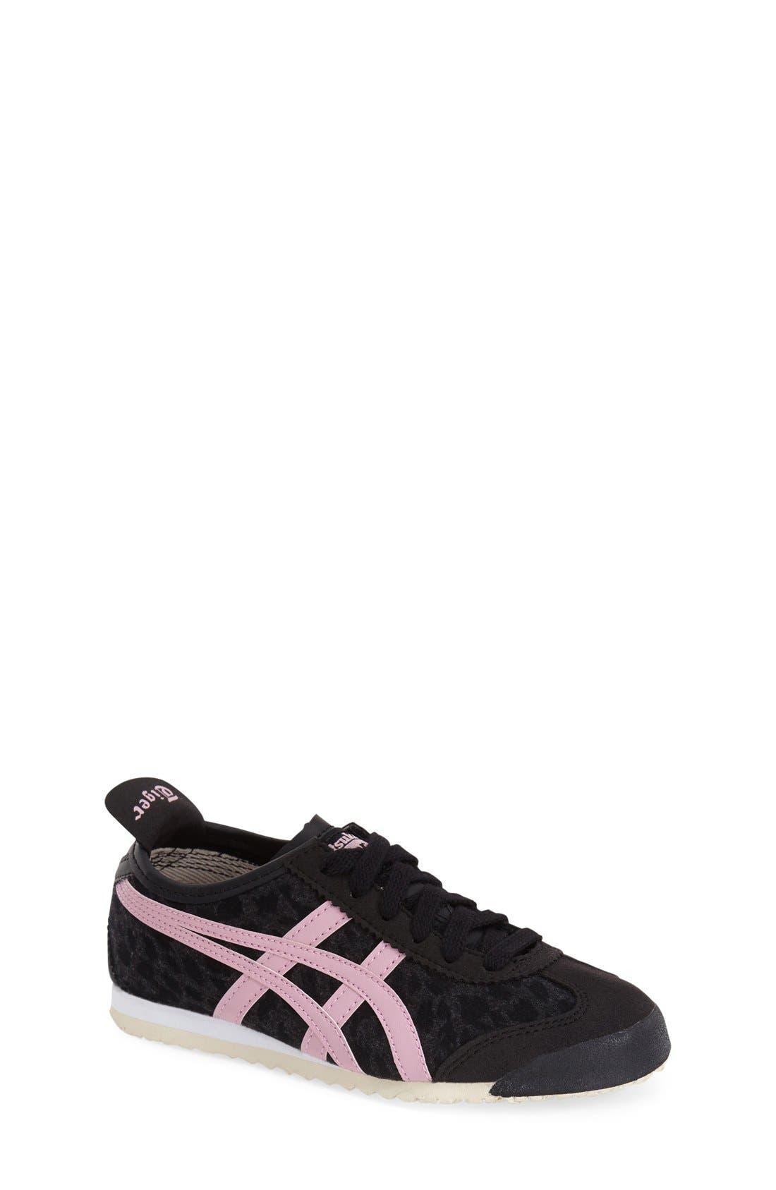 onitsuka tiger mexico 66 black and pink underwear kid