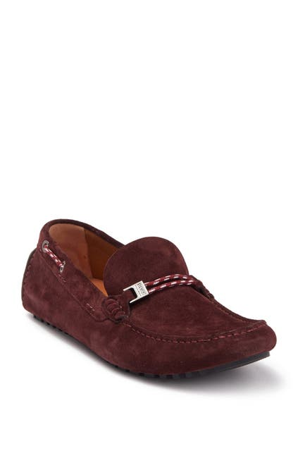 Image of BOSS Suede Moccasin Driver