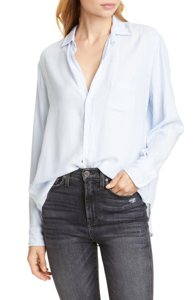 FRANK & EILEEN The Eileen Stripe Modal Shirt, Main, color, 496