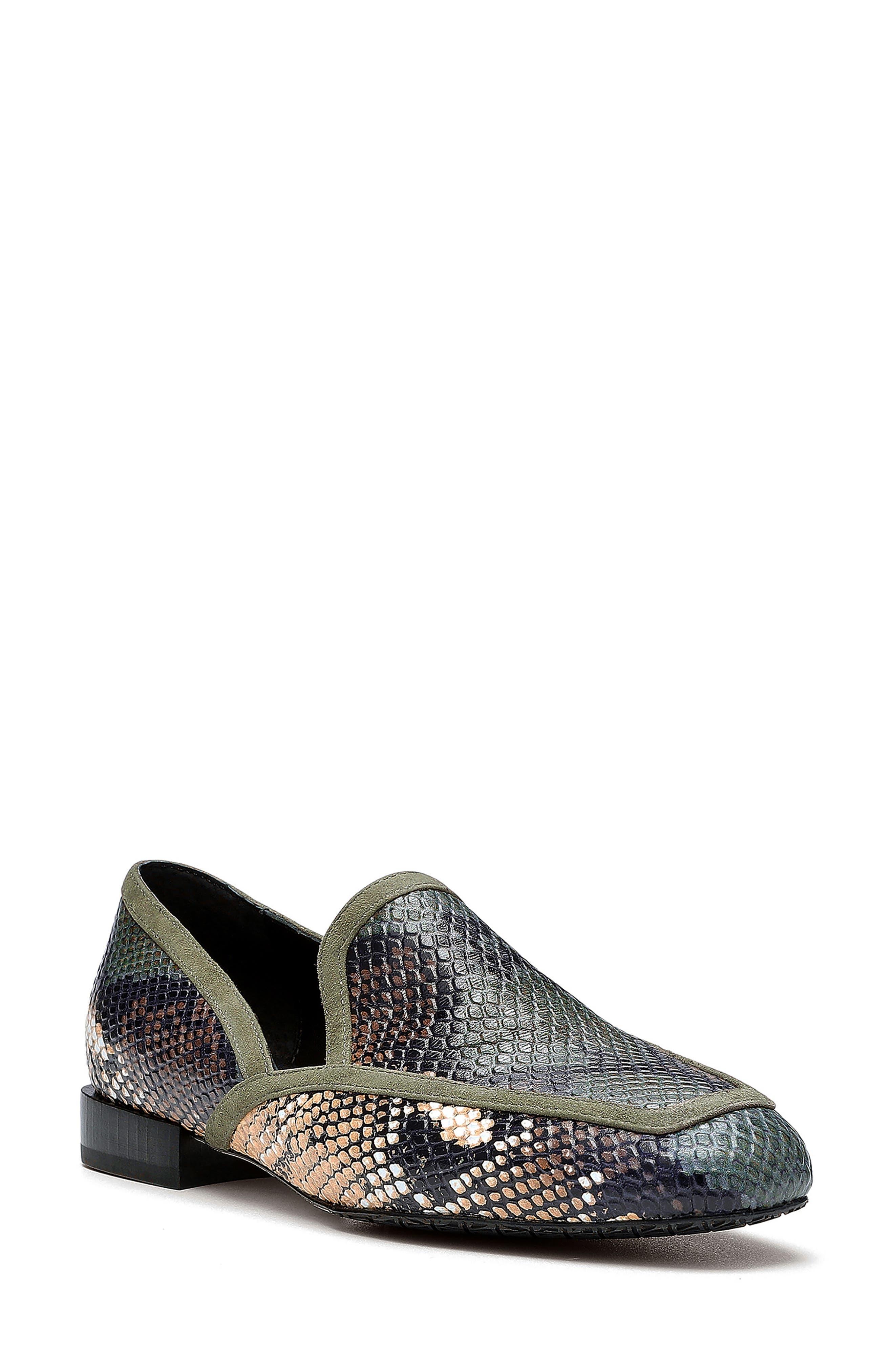 Rezza Snakeskin Print Loafer