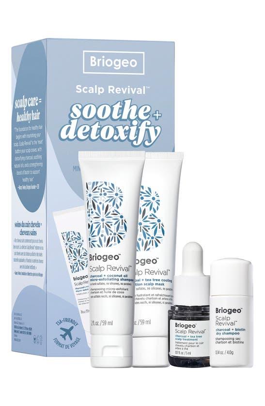 Briogeo SCALP REVIVAL(TM) SOOTHE & DETOXIFY HAIR CARE SET