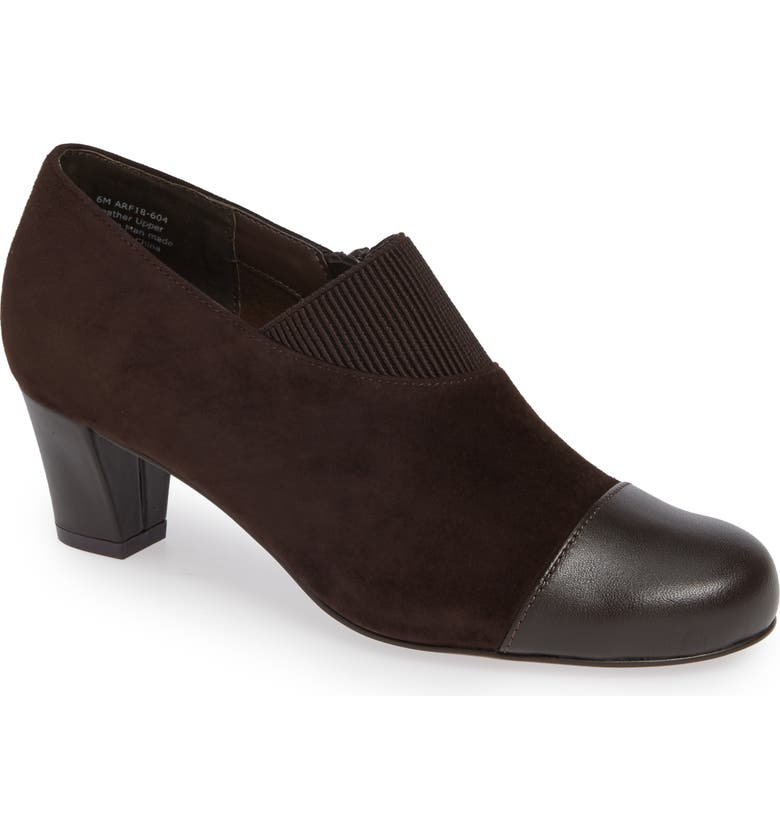 DAVID TATE Hope Bootie, Main, color, BROWN SUEDE