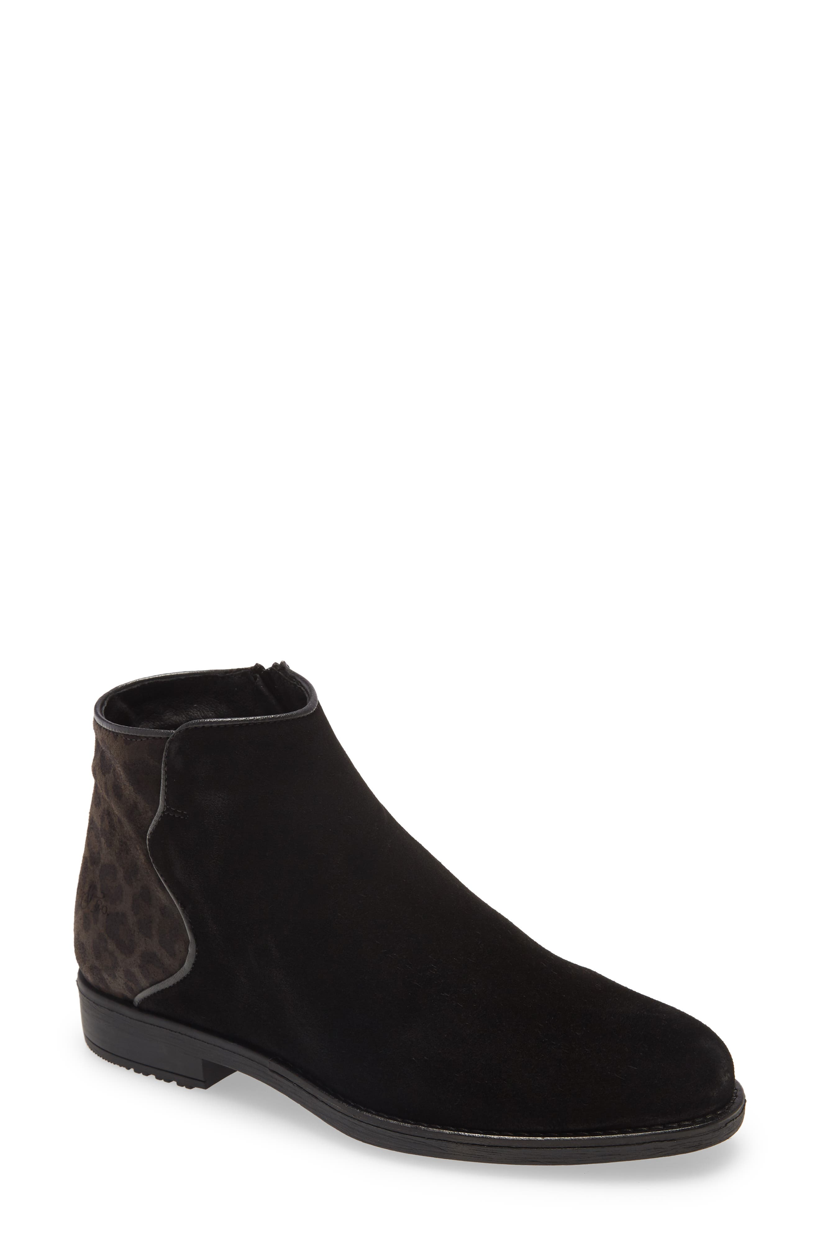 Piped edging highlights the subtle curves of a lug-sole bootie that\\\'s an elevated yet utilitarian standout. Style Name: Bos. & Co. Rural Bootie (Women). Style Number: 6086146. Available in stores.