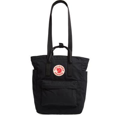Fjallraven Kanken Tote Backpack - Black