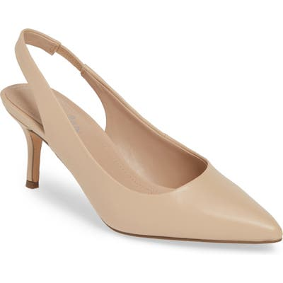Charles By Charles David Amy Slingback Pump- Beige