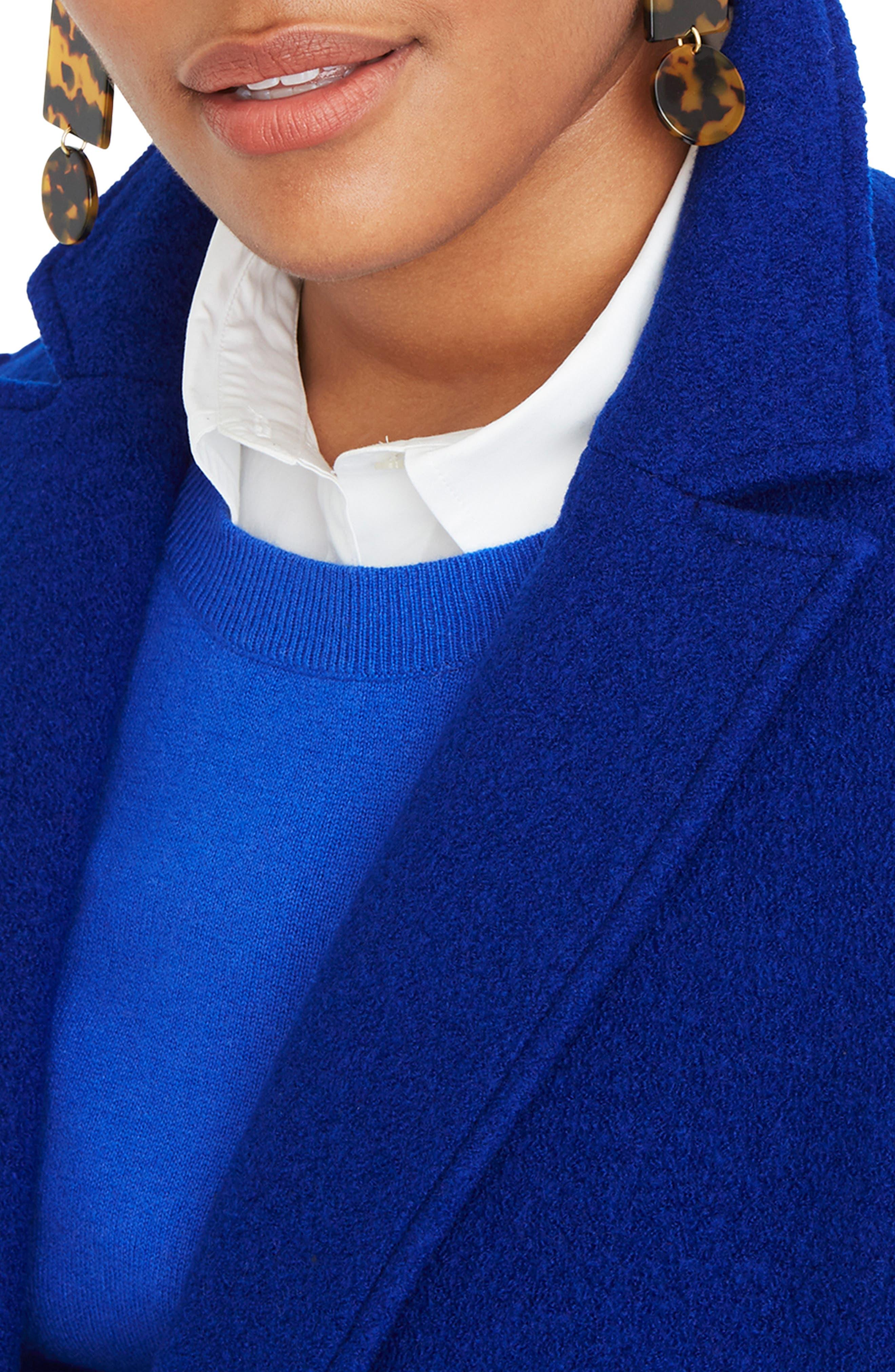 ,                             Daphne Boiled Wool Topcoat,                             Alternate thumbnail 45, color,                             400