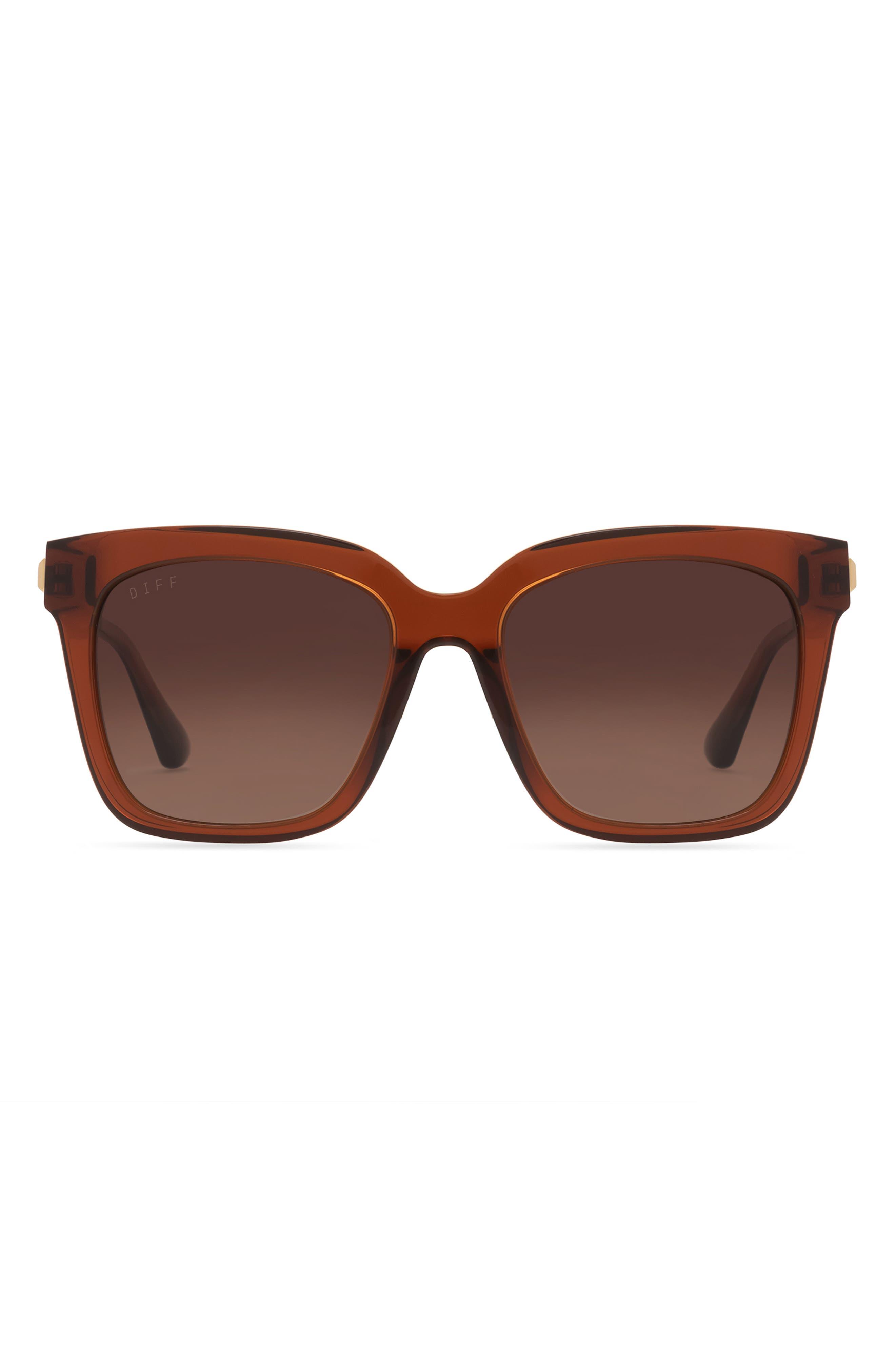 Bella 54mm Gradient Square Sunglasses