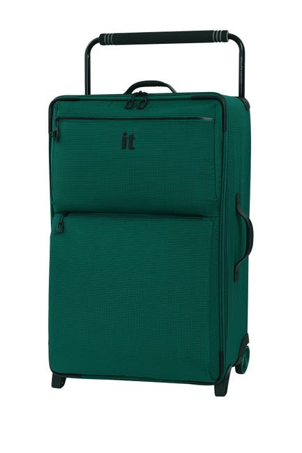 """Image of it luggage 29.6"""" World's Lightest Wide Handle Design Two Tone 2 Wheel Luggage"""