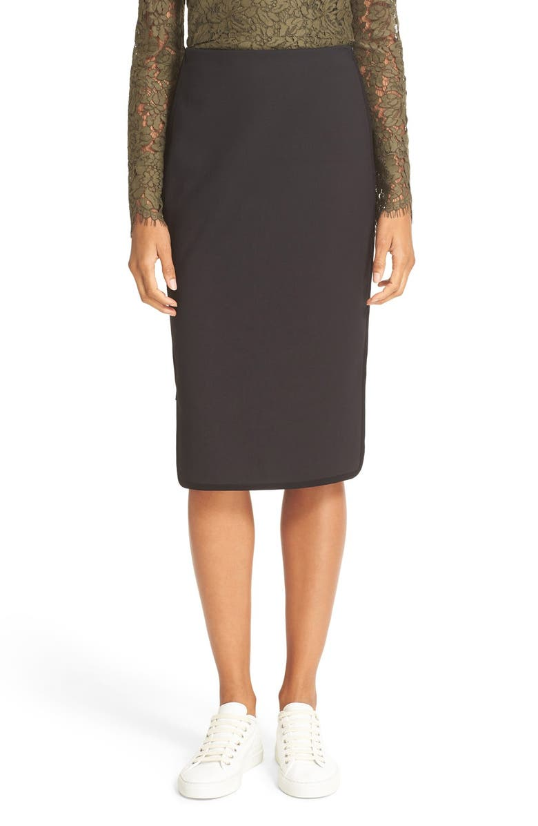 782af50eb Diane von Furstenberg Noemi Side Zip Pencil Skirt | Nordstrom