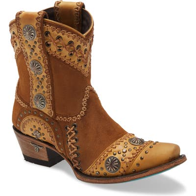 Lane Boots Wind Walker Short Western Boot- Brown